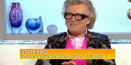 Steve Edge Live With Gabby Logan 12th January 2012. - Steve Edge World - Steve Edge Design