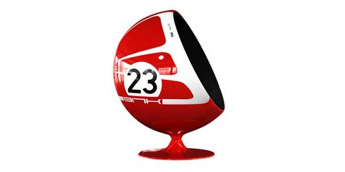 Motorsport-themed Chairs – Steve Loves It! - Steve Edge World - Steve Edge Design