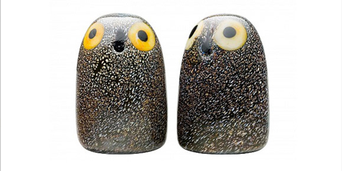 Iittala Glass Owls – Steve Loves It! - Steve Edge World - Steve Edge Design