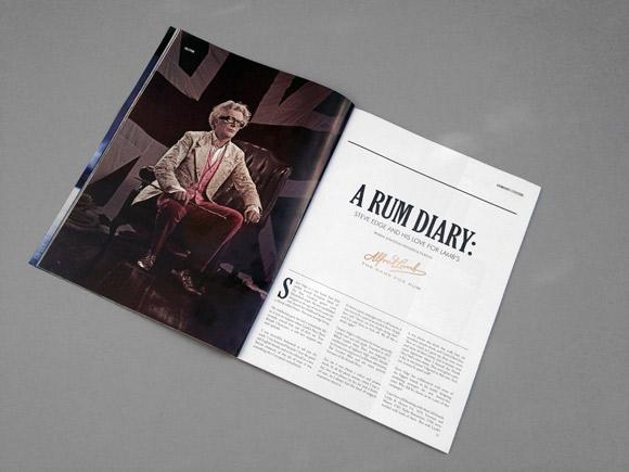 Halcyon Magazine - News - Steve Edge Design