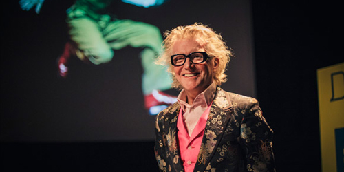 Design, Dyslexia and Dressing for a Party – Steve Edge at West of England Design Forum, Bristol - Steve Edge World - Steve Edge Design