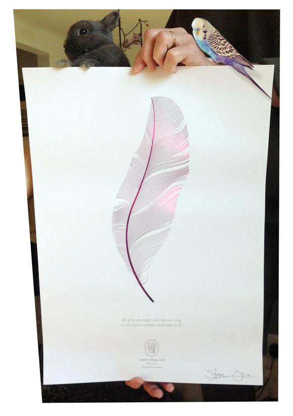 Angel Poster - Steve Edge - News - Steve Edge Desgin Ltd